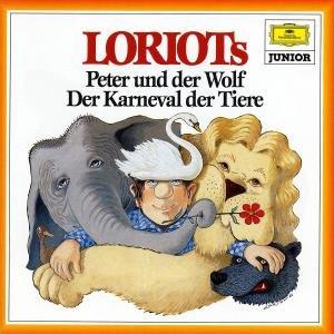 Loriots Peter und der Wolf / Der Karneval der Tiere. CD