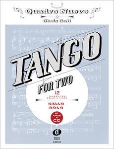 Tango for Two. 12 Tangos for Cello Solo incl. Playalong-CD