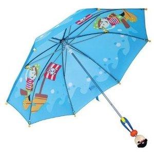 Bino 82792 - Kinder-Regenschirm, Pirat
