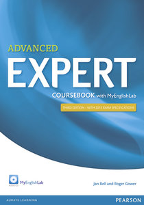 Expert Advanced Coursebook with Audio CD and MyEnglishLab Pack