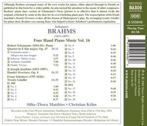 Vierhändige Klaviermusik Vol.16