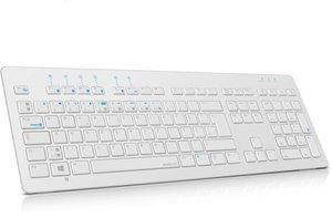 ATHERA XE Bluetooth Tastatur - Weiß