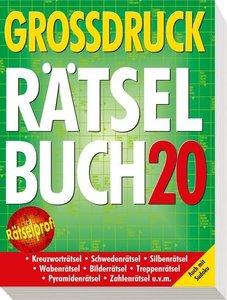 Großdruck-Rätselbuch 20