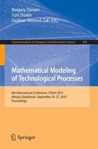 Mathematical Modeling of Technological Processes