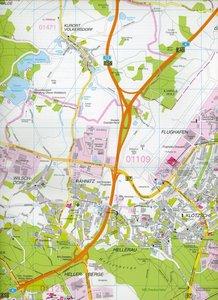 Dresden 1 : 22 500. Stadtplan spezial