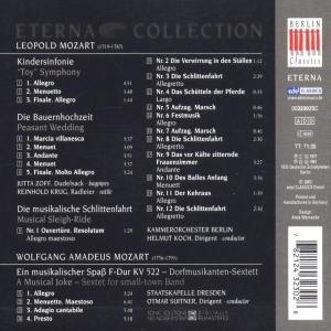 Kindersinfonie/Bauernhochzeit/Schlittenfahrt/+