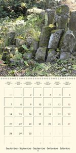 Stone Objects (Wall Calendar 2015 300 &times 300 mm Square)