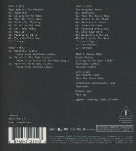 Rage Against The Machine-XX (20th Anniversary Sp