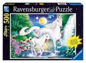 Ravensburger 14947 - Idylle am Wasserfall, 500 Teile Starline Pu
