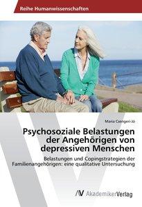 Psychosoziale Belastungen der Angehörigen von depressiven Mensch