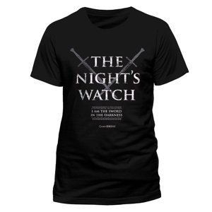 Nights Watch (T-Shirt,Schwarz,Größe XL)