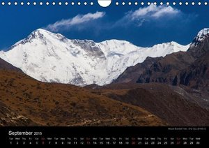 Mount Everest Trek (Wall Calendar 2015 DIN A4 Landscape)