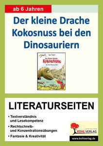 Der kleine Drache Kokosnuss bei den Dinosauriern - Literaturseit