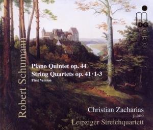 Klavierquintett op.44/Streichquartette op.41,1-3