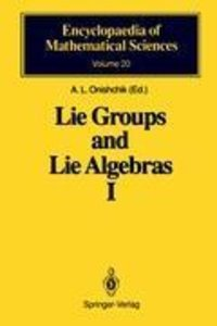 Lie Groups and Lie Algebras I