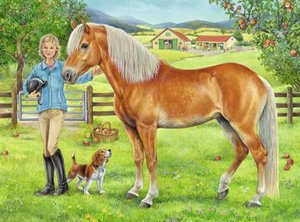 Mein Lieblingspferd. 100 Teile XXL Puzzle + App Games