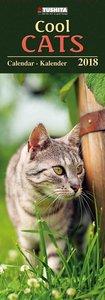 Cool Cats 2018 Slimline Calendar