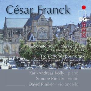 Sonate f.Violine+Klavier/3 Choräle f.Orgel arr