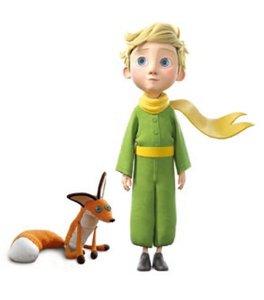 Hape 824762 - Der kleine Prinz mit Fuchs, Figuren Set ca. 12 cm