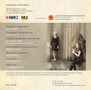 Sonaten für Violine und Klavier Vol.2