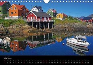 Oasen der Ruhe - skandinavische Impressionen (Wandkalender 2016