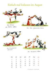 Mit den Yoga-Kühen durch das Jahr 2016