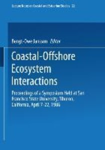 Coastal-Offshore Ecosystem Interactions