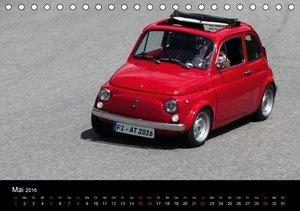Fiat 500 Kalender 2016 (Tischkalender 2016 DIN A5 quer)