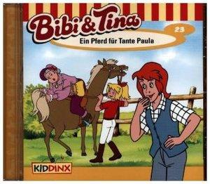 Bibi und Tina 23. Ein Pferd für Tante Paula. CD