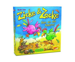 Zoch 601105055 - Zicke und Zacke - Ran an die Federn, Kinderspie
