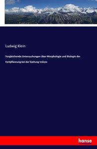 Vergleichende Untersuchungen über Morphologie und Biologie der F