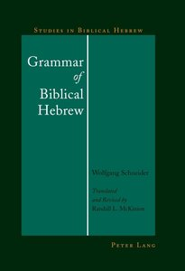 Grammar of Biblical Hebrew