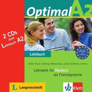 Optimal A2 - 2 Audio-CDs zum Lehrbuch A2