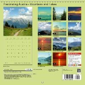 Fascinating Austria - Mountains and Lakes (Wall Calendar 2015 30