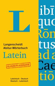 Langenscheidt Abitur-Wörterbuch Latein