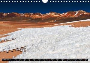 """Bolivien Andenlandschaften """"CH-Version"""" (Wandkalender 2016 DIN A"""