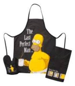"The Simpsons Grillset, 3tlg. ""The Last Perfect Man"""