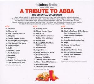 Tribute To Abba-Intro Collection