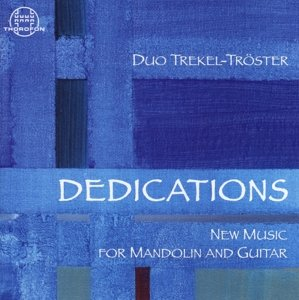 Dedications New Music for Mandolin and g