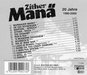 20 Jahre-1980-2000/Erfolge