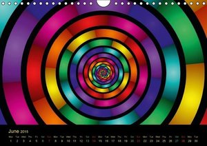Neon Colours / UK-Version (Wall Calendar 2015 DIN A4 Landscape)