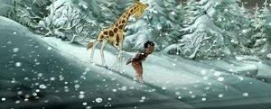 Die Abenteuer der kleinen Giraffe Zarafa BD
