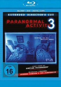 Paranormal Activity 3. Blu-ray + DVD