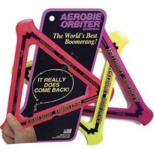 Invento 360200 - Aerobie: Orbiter Boomerang, farblich sortiert,