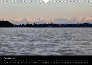 Up to the horizon / UK-Version (Wall Calendar 2015 DIN A4 Landsc