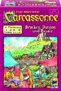 Carcassonne. Burgen und Brücken. 8. Erweiterung