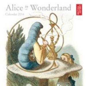 Alice Wonderland Brit Lib Mini Wall 2016
