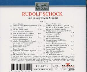 Rudolf Schock Edition Vol. 2