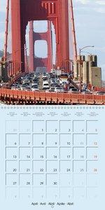 San Francisco Golden Gate City (Wall Calendar 2015 300 × 300 mm