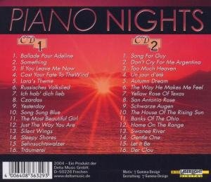 Piano Nights-Romantic Instrumentals